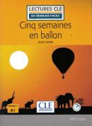 CINQ SEMAINES EN BALLON NIVEAU 1 + CD AUDIO - 2ª ED