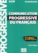 COMMUNICATION PROGRESSIVE DU FRANCAIS - NIVEAU INTERMEDIAIRE - LIVRE AVEC + CD - NOUVELLE COVERTURE 2ª ED