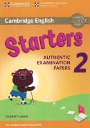 CAMBRIDGE ENGLISH YOUNG STARTERS 2 FOR REVISED EXAM FROM 2018 STUDENT´S BOOK