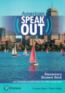 AMERICAN SPEAKOUT ELEMENTARY SB WITH DVD-ROM AND MP3 AUDIO CD& MYENGLISHLAB - 2ND ED