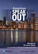 AMERICAN SPEAKOUT ADVANCED SB WITH DVD-ROM AND MP3 AUDIO CD & MYENGLISHLAB - 2ND ED