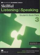 SKILLFUL 3 LISTENING & SPEAKING SB PACK - 1ST ED