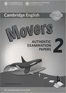 CAMBRIDGE ENGLISH YOUNG LEARNERS 2 FOR REVISED EXAM FROM 2018 MOVERS ANSWER BOOKLET - AUTHENTIC EXAMINATION PAPERS
