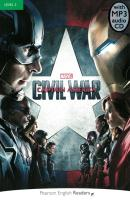 MARVELS CAPTAIN AMERICA - CIVIL WAR WITH MP3 - LEVEL 3