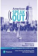 AMERICAN SPEAKOUT ELEMENTARY - TB WITH TR & ASSESSMENT CD & MP3 AUDIO CD - 2ND ED