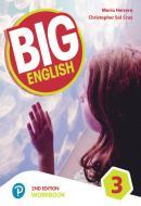 BIG ENGLISH 3 - WORKBOOK + CD - AMERICAN EDITION - 2ND ED