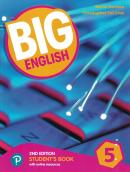 BIG ENGLISH 5 - STUDENTS BOOK WITH ONLINE RESOURCES - AMERICAN EDITION - 2ND ED