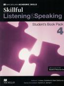 SKILLFUL 4 LISTENING & SPEAKING SB PACK - 1ST ED