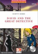 DAVID AND THE GREAT DETECTIVE WITH AUDIO CD & ONLINE ACTIVITIES HELBLING E-ZONE - LEVEL STARTER/CEFR A1