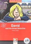 DAVID AND THE GREAT DETECTIVE WITH CD - STARTER