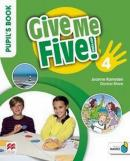 GIVE ME FIVE! 4 PUPIL´S BOOK PACK WITH ACTIVITY BOOK