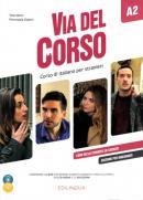 VIA DEL CORSO A2 EDIZIONE PER INSEGNANTI + DVD + CD AUDIO