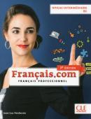 FRANCAIS.COM - INTERMEDIAIRE - LIVRE DE L´ELEVE + DVD-ROM - 3º ED