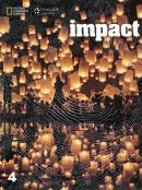 IMPACT 4 STUDENT BOOK WITH ONLINE WORKBOOK PACKAGE AND PRINTED ACCESS CODE - AMERICAN