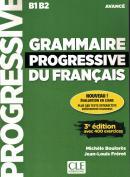GRAMMAIRE PROGRESSIVE DU FRANCAIS - NIVEAU AVANCE + APPLI + CD - 3ª ED