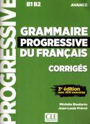 GRAMMAIRE PROGRESSIVE DU FRANCAIS - NIVEAU AVANCE CORRIGES - 3ª ED