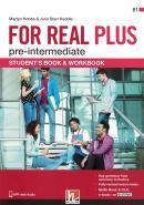 FOR REAL PLUS PRE-INTERMEDIATE SB/WB + E-ZONE
