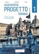 NUOVISSIMO PROGETTO ITALIANO 1 - CORSO DI LINGUA E CIVILTA ITALIANA - QUADERNO DEGLI ESERCIZI  + 1 CD AUDIO