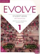 EVOLVE 1 - STUDENTS BOOK WITH PRACTICE EXTRA