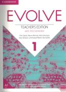 EVOLVE 1 - TEACHER´S EDITION WITH TEST GENERATOR