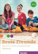 BESTE FREUNDE A1.1 ARBEITSBUCH MIT AUDIO-CD - NE