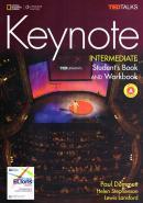KEYNOTE INTERMEDIATE - COMBO SPLIT A + DVD-ROM + WB AUDIO CD - BRITISH - 1ST ED