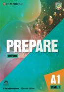 PREPARE 1 - WORKBOOK WITH AUDIO DOWNLOAD - 2ND ED