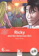 RICKY AND THE AMERICAN GIRL WITH CD - ELEMENTARY