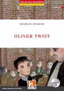OLIVER TWIST - HEBLING READERS CLASSICS - RED SERIES - LEVEL 3 - WITH AUDIO CD + FREE ONLINE ACTIVITIES - N/E