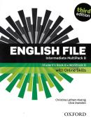 ENGLISH FILE INTERMEDIATE B MULTIPACK WITH ONLINE SKILLS - 3RD ED.