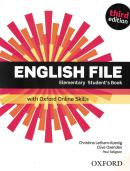 ENGLISH FILE ELEMENTARY STUDENT´S BOOK WITH OXFORD ONLINE SKILLS - 3RD ED