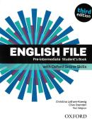 ENGLISH FILE PRE-INTERMEDIATE SB WITH OXFORD ONLINE SKILLS - 3RD ED.