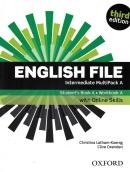 ENGLISH FILE INTERMEDIATE MULTIPACK A WITH OXFORD ONLINE SKILLS - 3RD ED.