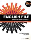 ENGLISH FILE UPPER-INTERMEDIATE MULTIPACK A - 3RD ED