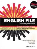 ENGLISH FILE ELEMENTARY A MULTIPACK SB + WB WITH OXFORD ONLINE SKILLS - 3RD ED.