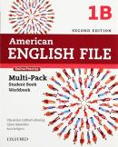 AMERICAN ENGLISH FILE 1B MULTIPACK WITH ONLINE PRACTICE - 2ND ED