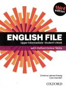ENGLISH FILE UPPER-INTERMEDIATE STUDENT´S BOOK WITH OXFORD ONLINE SKILLS - 3RD ED