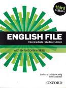 ENGLISH FILE INTERMEDIATE SB WITH OXFORD ONLINE SKILLS - 3RD ED.