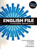 ENGLISH FILE PRE-INTERMEDIATE WB WITH KEY - 3RD ED.