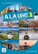 A LA UNE 1 - A1 - LIVRE DE L´ELEVE + CD
