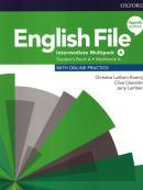 ENGLISH FILE INTERMEDIATE A SB/WB MULTIPACK - 4TH ED.