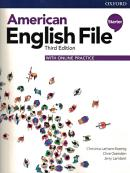 AMERICAN ENGLISH FILE STARTER - STUDENT BOOK WITH ONLINE PRACTICE - 3RD ED