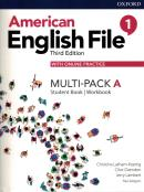 AMERICAN ENGLISH FILE 1A - MULTI-PACK WITH ONLINE PRACTICE - 3RD ED