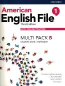 AMERICAN ENGLISH FILE 1B - MULTI-PACK WITH ONLINE PRACTICE - 3RD ED