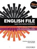 ENGLISH FILE UPPER-INTERMEDIATE MULTIPACK B WITH OXFORD ONLINE SKILLS - 3RD ED