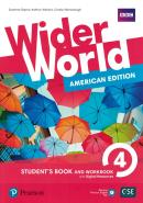 WIDER WORLD 4 - AMERICAN EDITION - STUDENTS BOOK AND WORKBOOK WITH DIGITAL RESOURCES + ONLINE