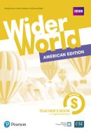 WIDER WORLD STARTER - AMERICAN EDITION - TEACHERS BOOK WITH DIGITAL RESOURCES