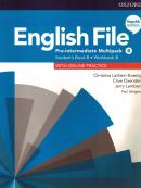 ENGLISH FILE PRE-INTERMEDIATE B SB/WB MULTIPACK - 4TH ED.