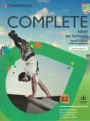 COMPLETE FIRST FOR SCHOOLS SB WITHOUT ANSWERS WITH ONLINE PRACTICE - 2ND ED.