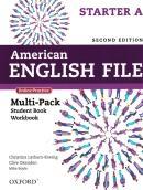 AMERICAN ENGLISH FILE STARTER A - MULTI PACK 2ND ED